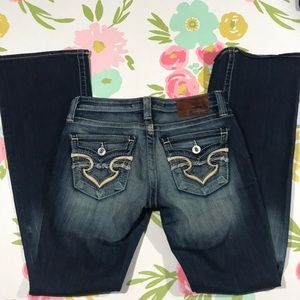 BIG STAR Casey K Bootcut Jeans low-rise 27L 27x33